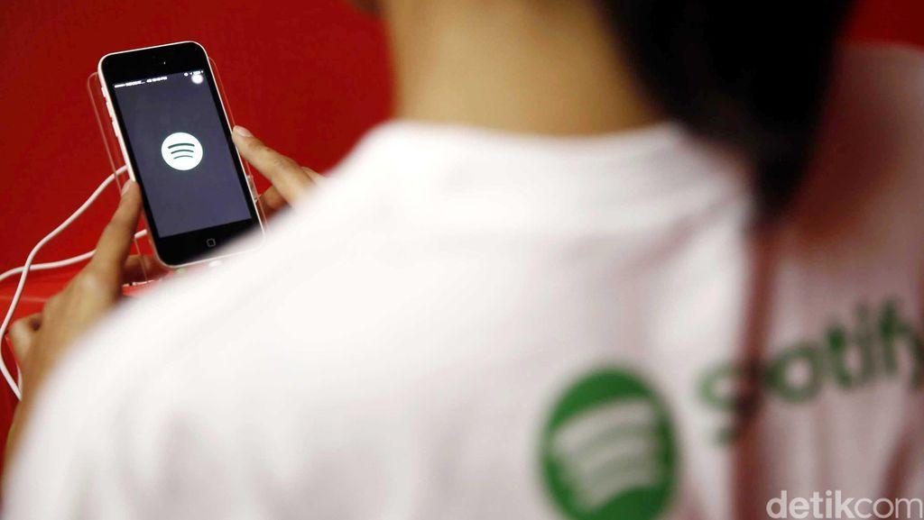 Spotify Catat Keuntungan Rp 1,5 Triliun