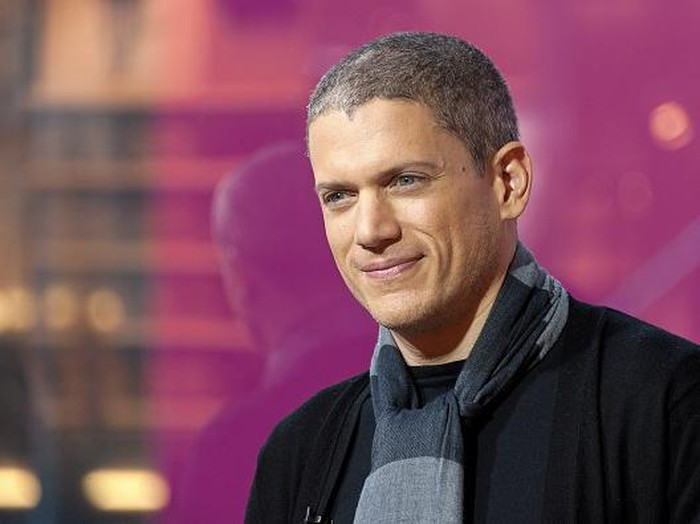 NEW YORK, NY - JANUARY 21:  Wentworth Miller visits