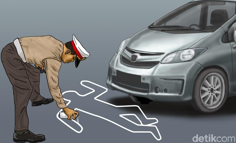 Ilustrasi Kecelakaan. Foto: Ilustrasi oleh Edi Wahyono