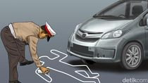 Pemotor di Tamangapa Makassar Tewas Terlindas Mobil Usai Adu Banteng