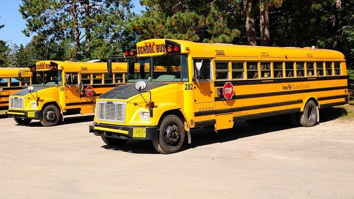 Ilustrasi Bus Sekolah. (Wladyslaw via Wikimedia (CC-BY-SA-3.0))