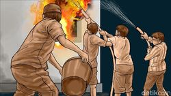 Kebakaran Asrama Brimob Slipi-Petamburan Padam, Tak Ada Korban Jiwa