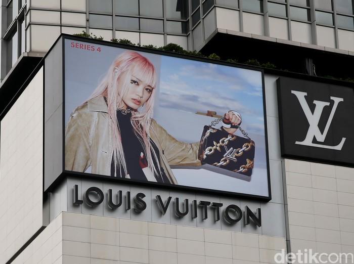 Ilustrasi toko Louis Vuitton. Foto: Ari Saputra