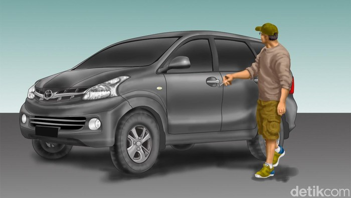 Ilustrasi pencurian (Edi Wahyono/detikcom)