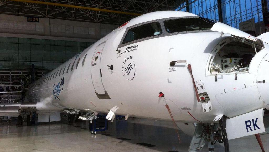 Garuda Mau Kurangi Pesawat Bombardier dan ATR