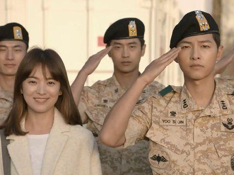 7 Drama Korea Romantis yang Cocok Ditonton Seharian di Rumah Descendants of the Sun