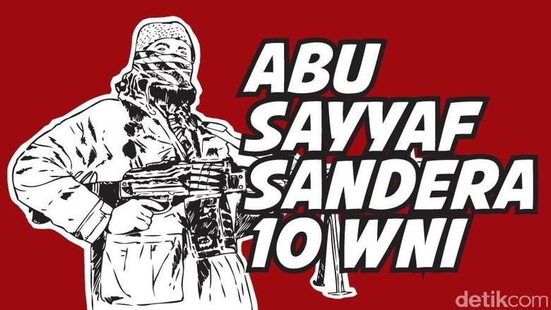 Abu Sayyaf Bebaskan 10 WNI yang Disandera