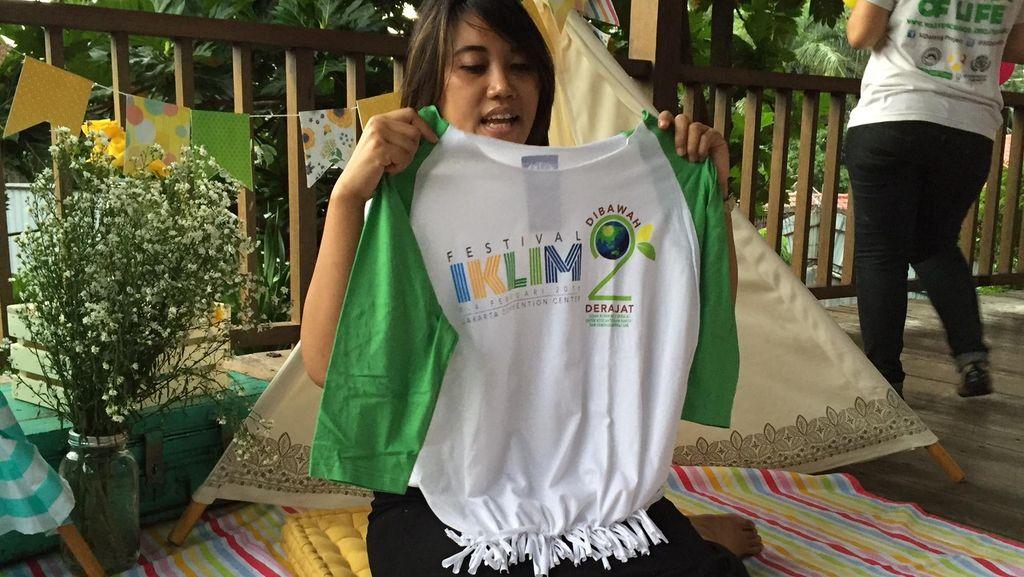 DIY: Membuat Tas Belanja Unik dari Baju Bekas