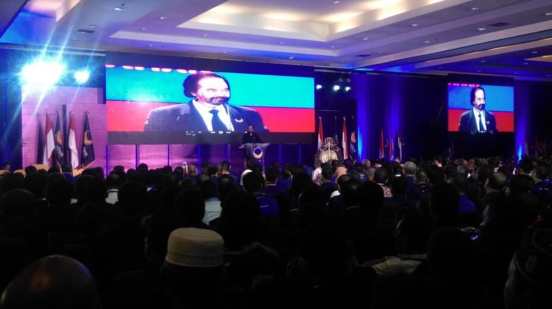 Surya Paloh Peringatkan Kadernya: Kalau Anggota DPR Macam-macam, Kita Tendang