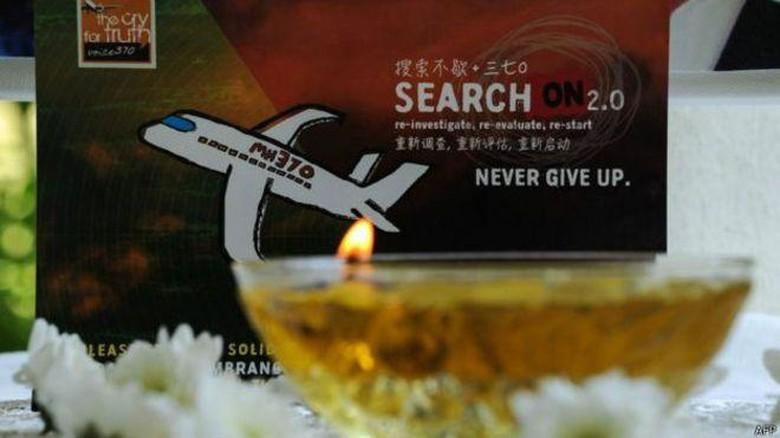 Keluarga Korban Serukan Malaysia Tak Berhenti Mencari MH370