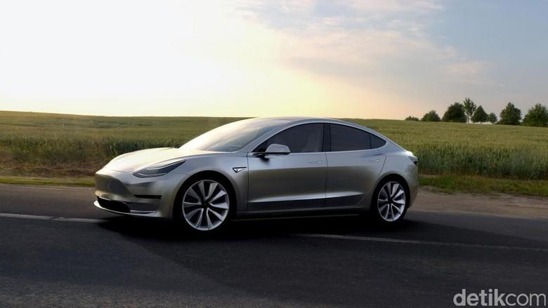 Tesla Model 3 >> Tesla Termurah Bakal Merapat Ke Ri Berapa Harganya