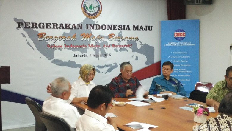 Din Syamsuddin dan Ali Masykur Musa Bentuk Pergerakan Indonesia Maju