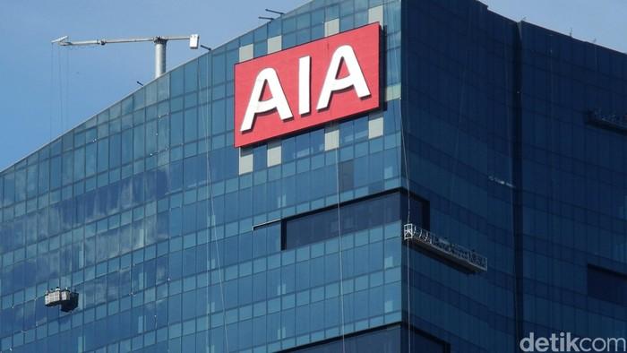 Gedung asuransi AIA di Jakarta