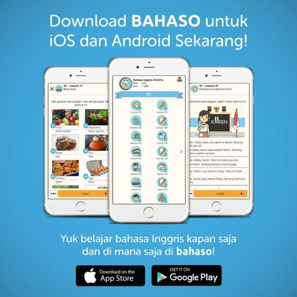 Download Aplikasi Bahaso Tembus 550 Ribu