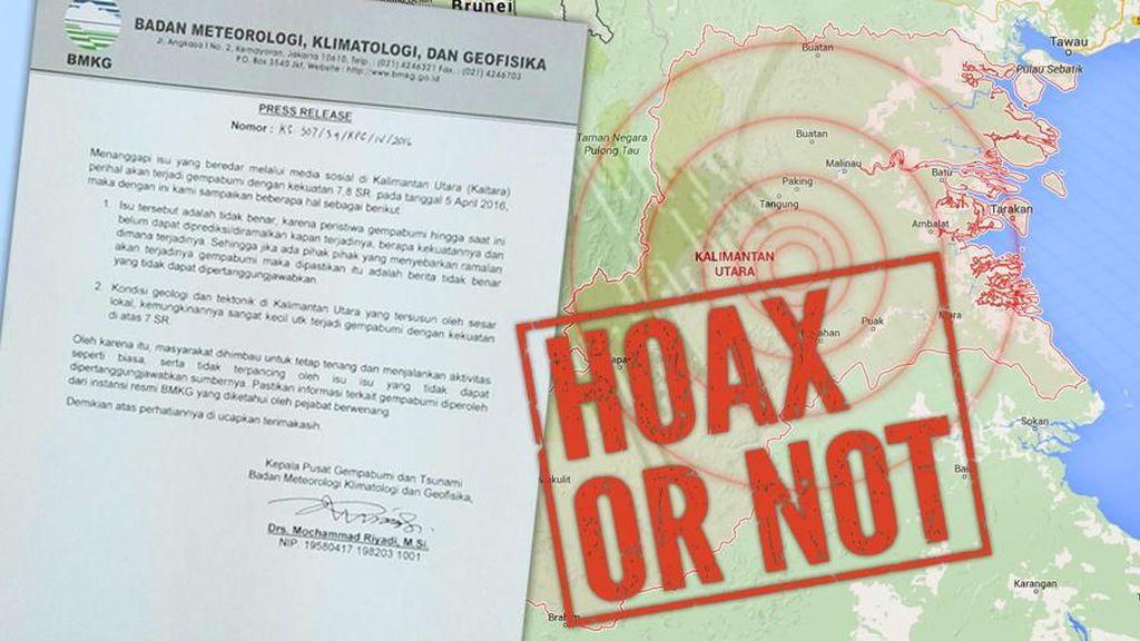 Temukan Hoax Gempa Lombok, Kominfo: Laporkan!