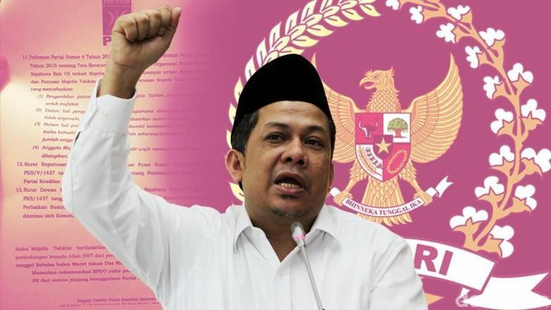 Putusan Pengadilan Hambat Pencopotan Fahri dari Kursi Pimpinan DPR