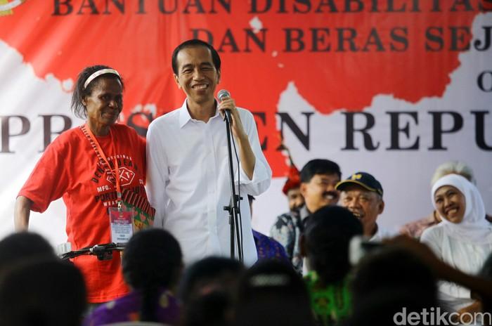 Presiden Jokowi (Agung Pambudhy/detikcom)