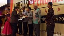 Arifin Panigoro, BI dan 22 Perusahaan Jadi Pembayar Pajak Terbesar 2015