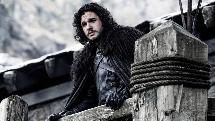 Kit Harington saat berperan sebagai Jon Snow. Foto: HBO