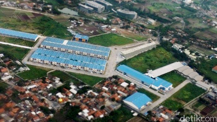Kawasan industri di Tangerang/Foto: Dikhy Sasra
