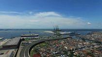 Video Proyek Megaraksasa Pelabuhan New Priok