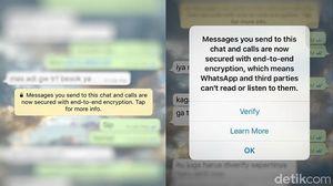WhatsApp Cs Mau Dibikin Lebih Aman Kok Dihambat?