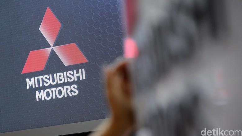 Ilustrasi Logo Mitsubishi Foto: Ari Saputra