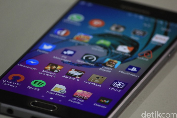 Ilustrasi aplikasi Android. Foto: detikINET/Irna Prihandini