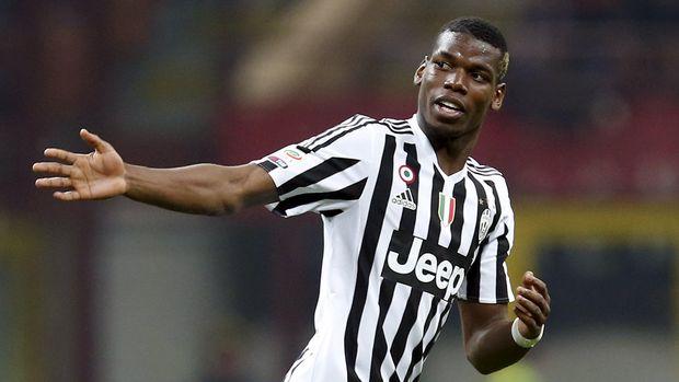 Paul Pogba bersinar bersama Juventus.