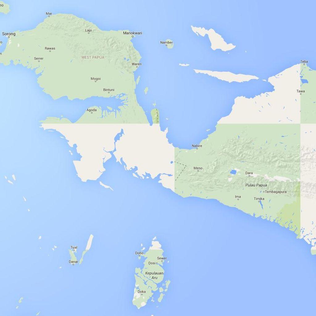 Pesawat Alfa Trans Tergelincir di Mamberemo Raya Papua
