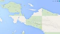 Bentuk Pulau Papua yang Seperti Kepala Burung, Kaya Minyak Bumi