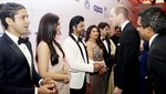 Shah Rukh Khan dan Aishwarya Rai Ngobrol Bareng William dan Kate