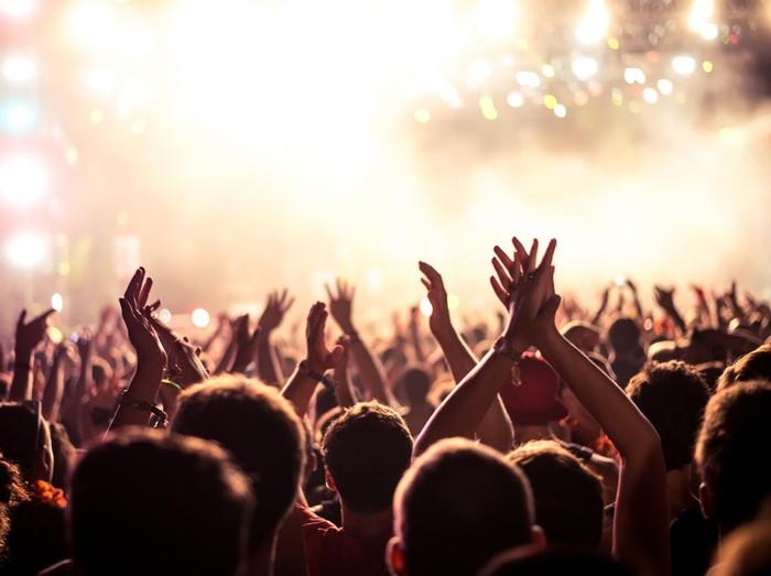 Ilustrasi menonton festival musik (Foto: Thinkstock)