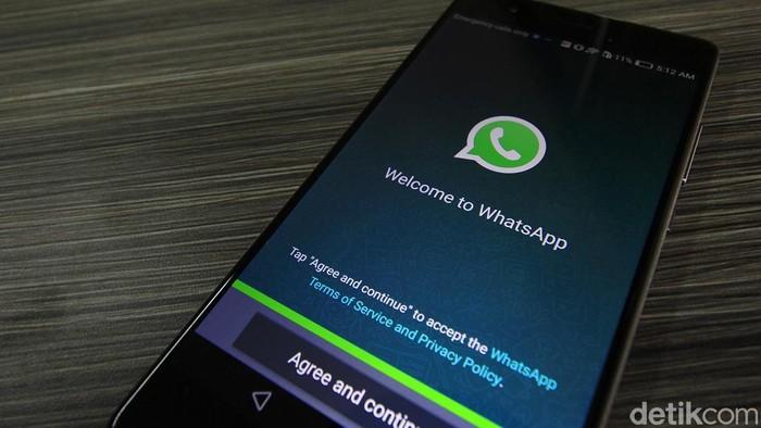 Muncul kabar adanya pesan soal WhatsApp Gold dan Virus Martinelli. (Foto: detikINET/Irna Prihandini)