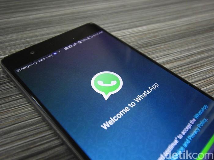 Ramainya perbincangan WhatsApp tumbang menggambarkan betapa tergantungnya kita pada gawai. (Foto: detikINET/Irna Prihandini)