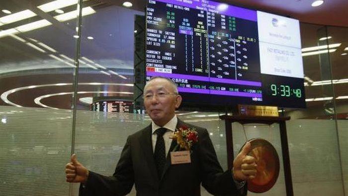 Tadashi Yanai. Foto: Reuters