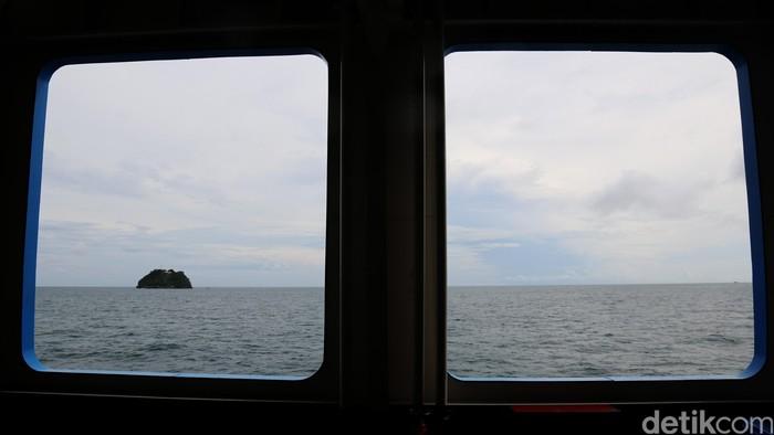 Pulau terperncil d tengah laut. dikhy sasra/ilustrasi/detikfoto