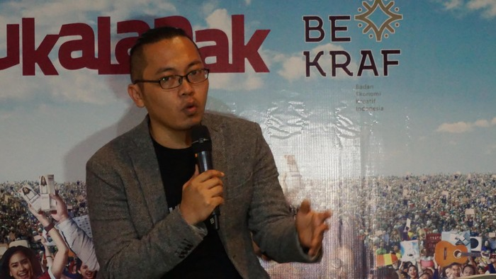 CEO Bukalapak Achmad Zaky (detikINET/Rachmatunnisa)