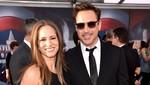 Mesranya... Robert Downey Jr Kecup Istri di Premiere The Judge