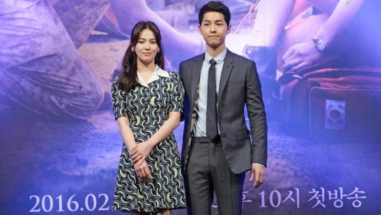 Lokasi Pernikahan Song Joong Ki dan Song Hye Kyo Mulai Dipadati Penggemar