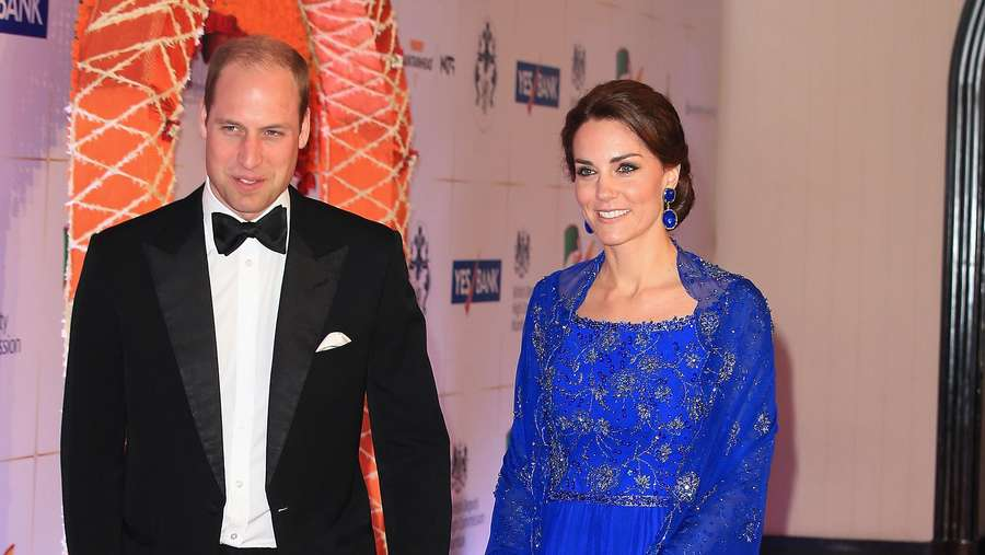 10 Penampilan Kate Middleton 4 Hari di India