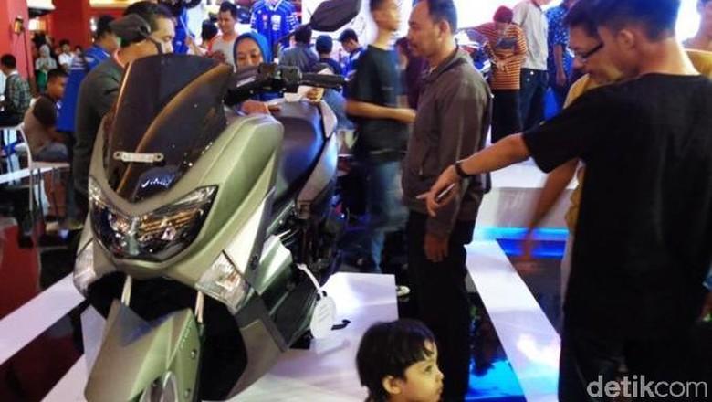 Nmax salah satu motor yang diekspor Yamaha ke berbagai negara Foto: Yamaha