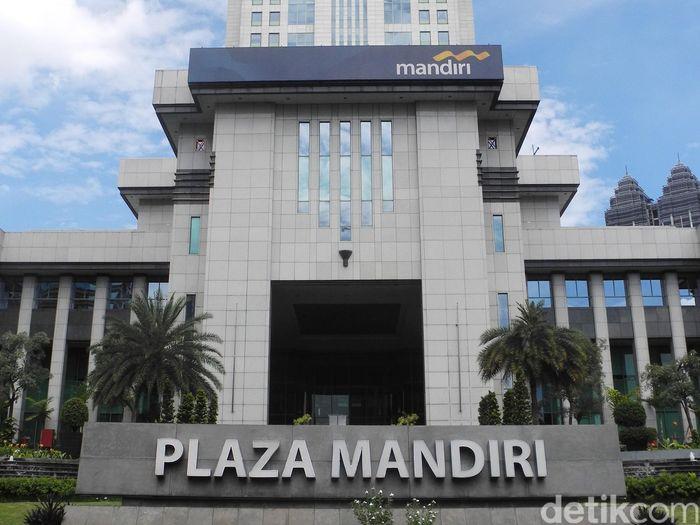 Ilustrasi Bank Mandiri/Foto: Ari Saputra