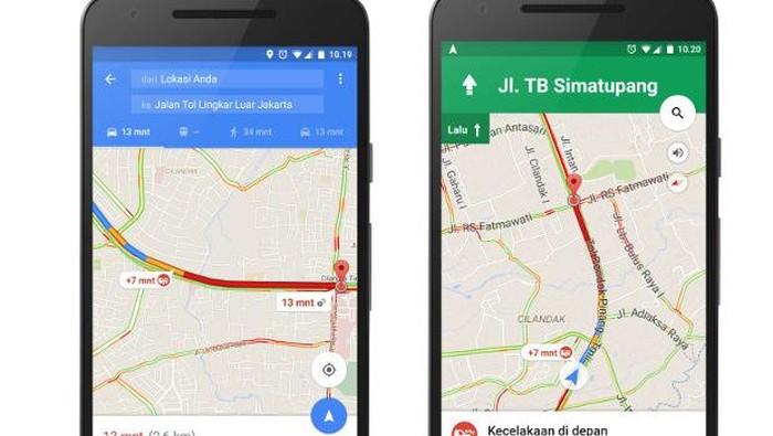 Ilustrasi Google Maps. (Foto: Foto: Google Indonesia)