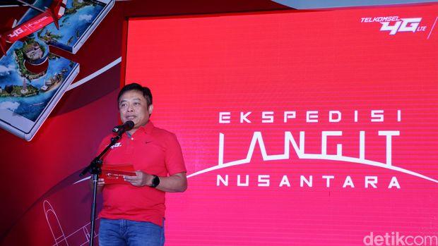 Ketua Umum ATSI baru Ririek Adriansyah.