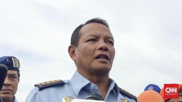 Eks KSAU Agus Supriatna turut hadir dalam deklarasi dukungan seribu purnawirawan kepada Jokowi.