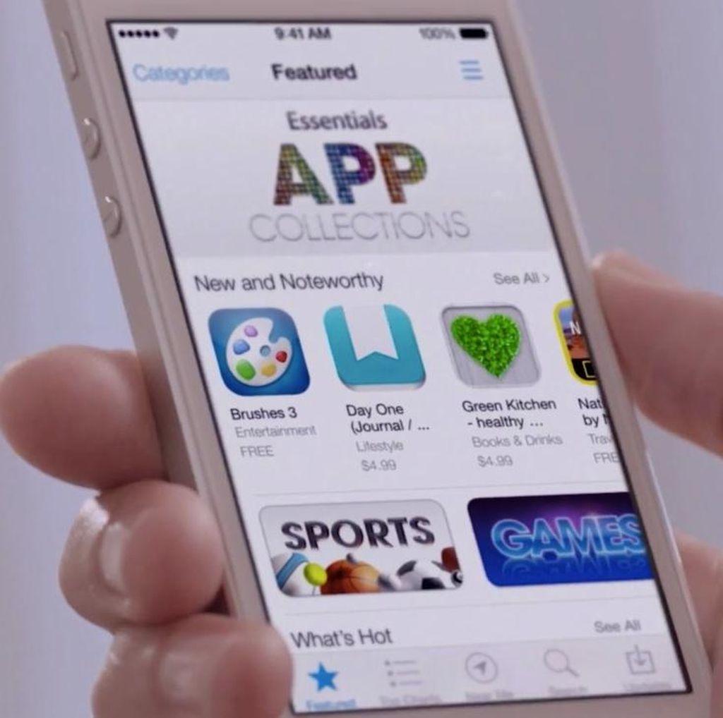 Pemasukan App Store Nyaris Dua Kali Lipat Play Store