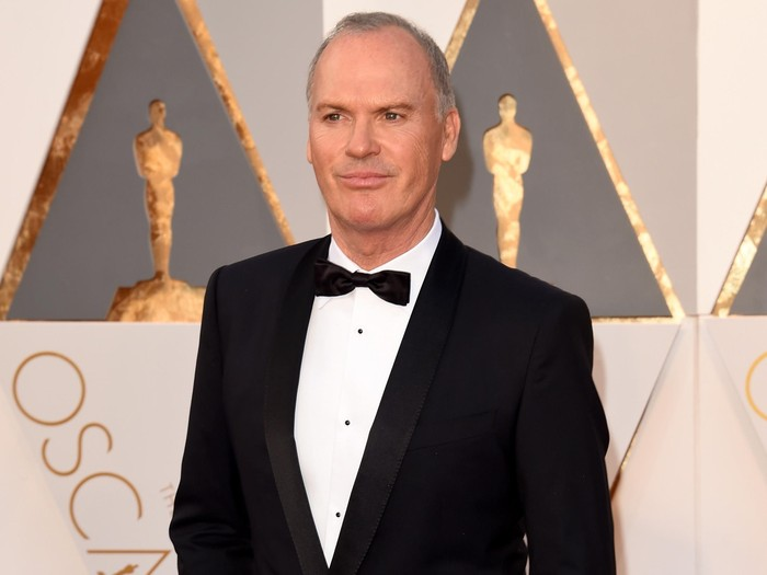 HOLLYWOOD, CA - FEBRUARY 28:  Actor Michael Keaton attends the 88th Annual Academy Awards at Hollywood & Highland Center on February 28, 2016 in Hollywood, California.  (Photo by Jason Merritt/Getty Images)