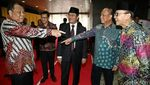 BJ Habibie Hadiri Peluncuran Buku Jimly Asshiddiqie