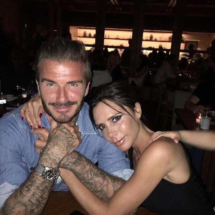 Mentato tubuh seperrti David Beckham harus memperhatikan sejumlah hal. Foto: Instagram